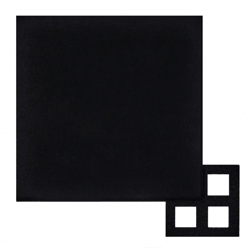 Amarco Products Mega Tile 200 1 Inch Virgin Rubber