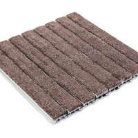 AT-250 - 3/4 inch - Aluminum Roll-Up Grating