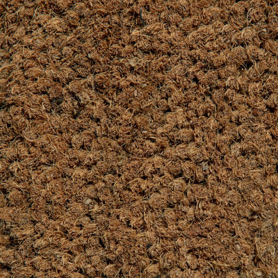 Brush-Coir - Vinyl-Backed Coco Mat