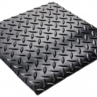 "Diamond-Runner - 3/16"" Diamond Plate Vinyl Runner"