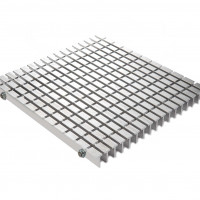 G-550R - 1 inch - Rectangle Grid Foot Grille