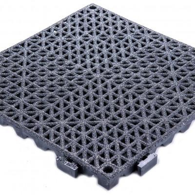 "Grit-Tile - 3/4"" Non-Slip PVC Industrial Tile"