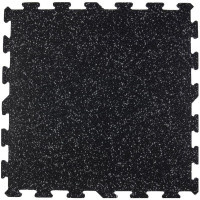 "Quick-Lock - 3/8"" X 24"" X 24"" Interlocking Gym Tile"